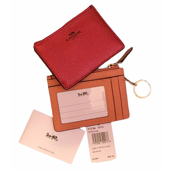 Only 1 Left! COACH Mini-Key Chain Wallet NWT
